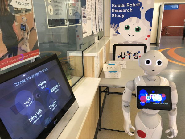 Pepper Robot at Fairfield Hospital